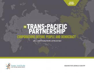 Trans Pacific Partnership cover