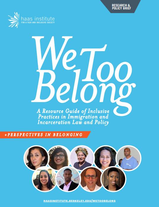 We Too Belong Report Cover